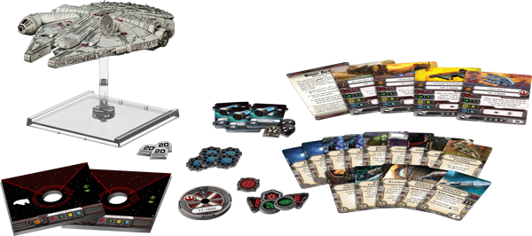 The Millennium Falcon expansion, in all it's glory
