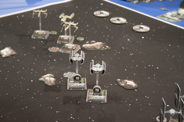 X-Wing in action at the GenCon 2012 Tournament