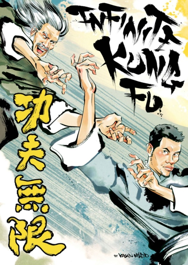 Infinite Kung Fu Kagan McLeod comic review zombies