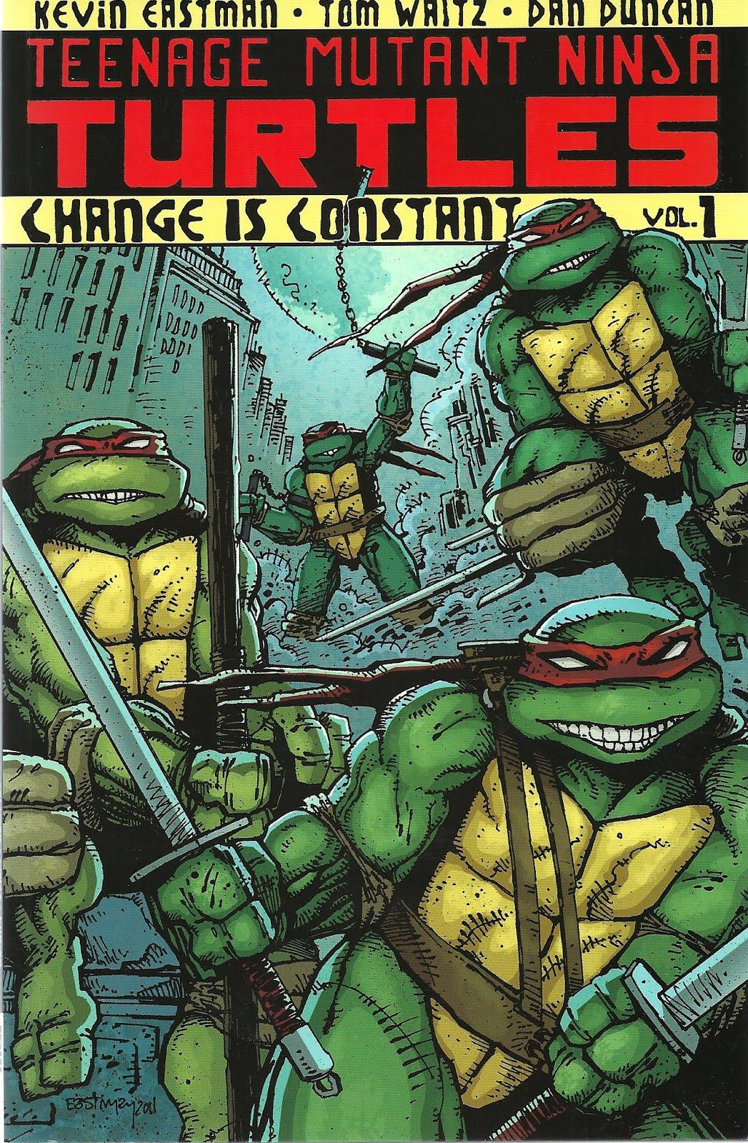 TMNT Change Is Constant