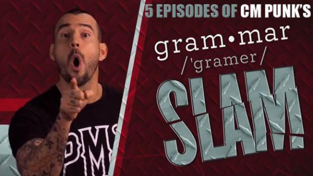 CM Punk Grammar Slam