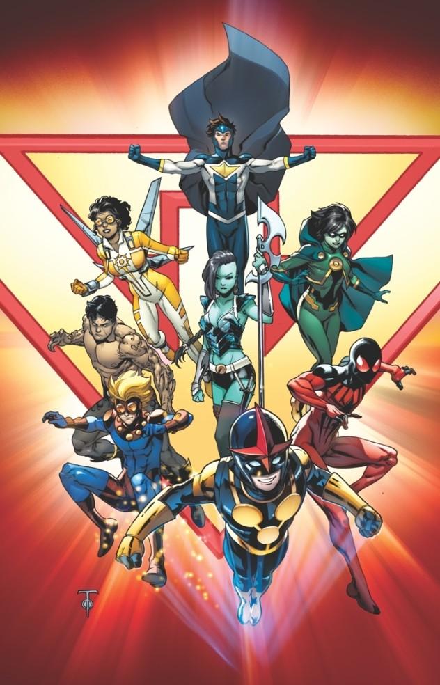 New Warriors 2014