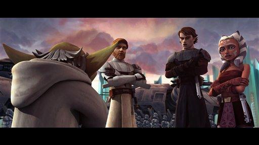 Film Star Wars Clone Wars