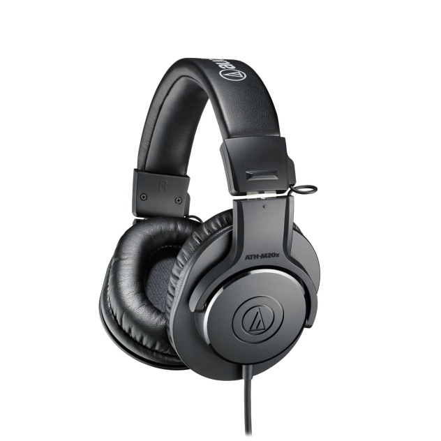 Audio Technica ATH-m20x Professional Studio Monitoring Headphones