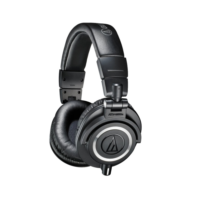 Audio Technica ATH-m50x Professional Studio Monitoring Headphones