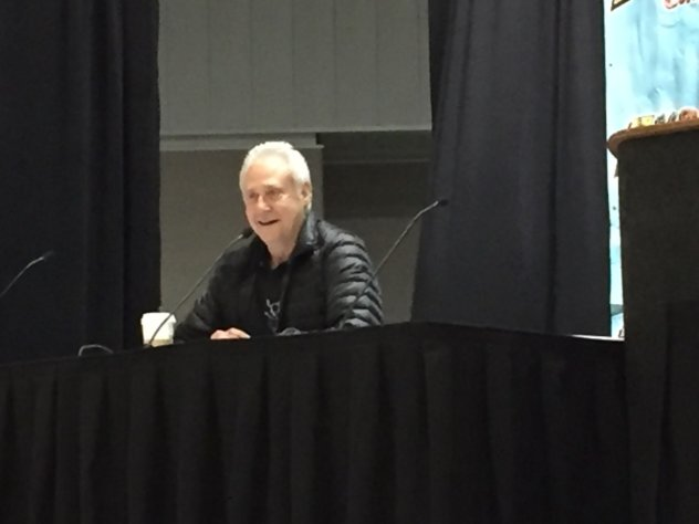 Brent Spiner at the 2016 Indiana Comic Con. Photo by Michelle Ealey