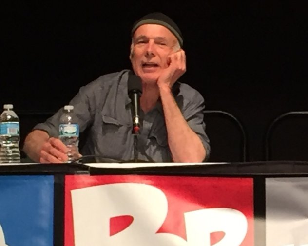 Michael Hogan at Indy Pop Con. Photo by Michelle Ealey.