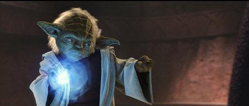 Master Yoda, Jedi badass