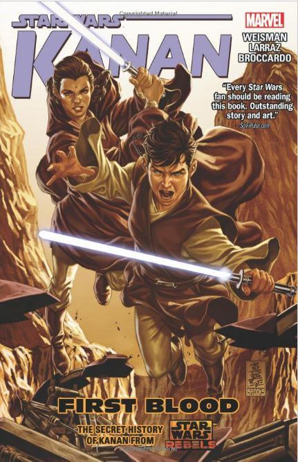 Star Wars: Kanan Vol. 2: First Blood is a trade paperback collecting issues 7 – 12 of Marvel's comic book series, Star Wars: Kanan