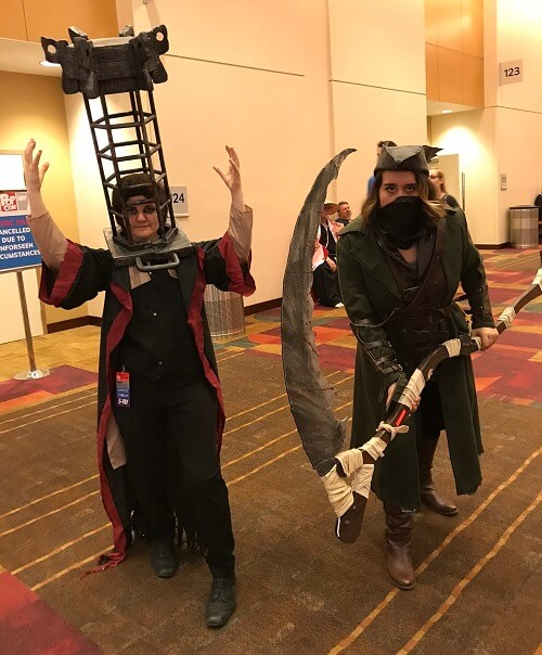 Bloodborne cosplay