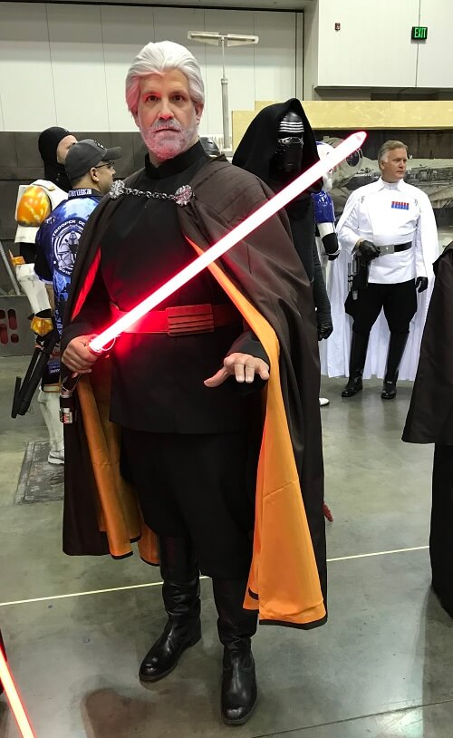 Count Dooku cosplay