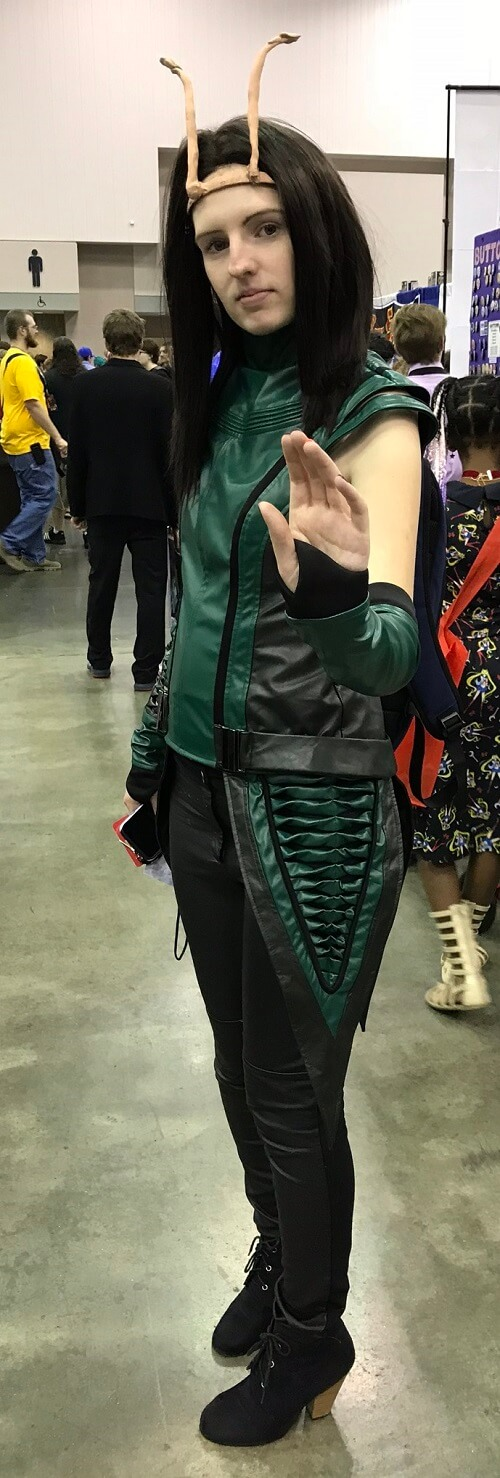 Mantis cosplay