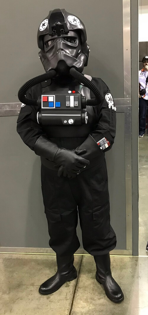 Imperial TIE pilot cosplay